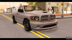 dodge ram srt10 2006 stock for gta san andreas
