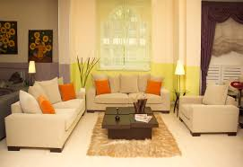 yellow and green living room home decor color trends contemporary