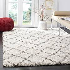 Grey Area Rug Safavieh Hudson Shag Collection Sgh282a Ivory And Grey