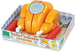 jeux imitation cuisine vilac 6304 jeu d imitation cuisine le poulet rôti à découper