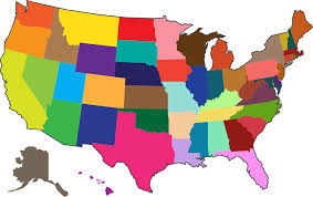 map of america free vector graphic maps country america states free image