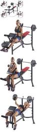 Weight Bench Ab Exercises Abdominal Exercisers 15274 Fitness Equipment For Abs Workout