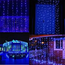 indoor christmas window lights amazon com solla curtain lights 19 6ft9 8ft 600 leds window curtain