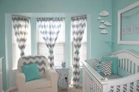 Curtains For Baby Room Aqua Curtains For Nursery Best Curtains Design 2016