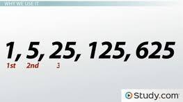 arithmetic sequence formula u0026 definition video u0026 lesson