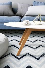 blue mountain chevron 2 u0027 u0027 triangle geometric floor tiles sale