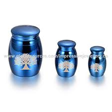 keepsake urns for ashes china high quality blue mini urn tree of funeral keepsake