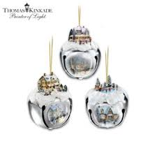 kinkade sleigh bells tree ornament collection