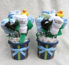 baby bouquets for twin boys unique gift baby by babyblossomco