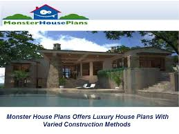 monster house plans offers luxury house plans with varied