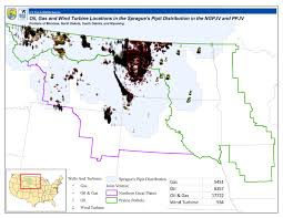 South Dakota In Usa Map by Refuge System Hapet Region 6