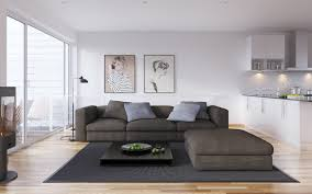 modern white living room furniture images interior silver blue and