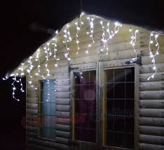led icicle lights cool white 17m long 720 cool white multi function led outdoor christmas icicle