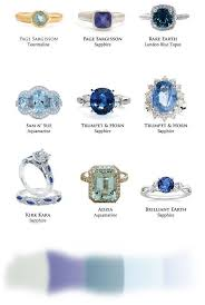 engagement rings with blue stones the of blue engagement rings