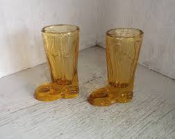 Toothpick Holders Vintage Glass Boot Toothpick Holder Etsy
