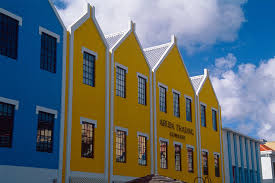 colorful building colorful building facades oranjestad aruba photograph by george oze