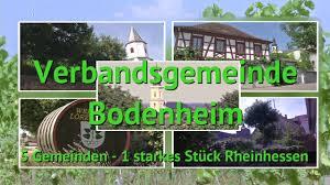 Vg Bad Bergzabern Streifzug Durch Die Verbandsgemeinde Bodenheim Youtube