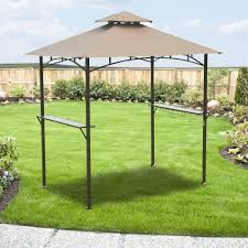 Bbq Gazebo Walmart by Mainstays Grill Shelter Replacement Canopy Garden Winds