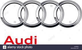 audi ag company logo of the german automotive corporation audi ag based in