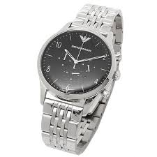 armani stainless steel bracelet images Emporio armani stainless steel bracelet black dial chronograph jpg