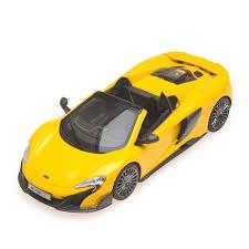land rover minichamps mclaren 675lt spider 2015 jaune minichamps 537154430 miniatures