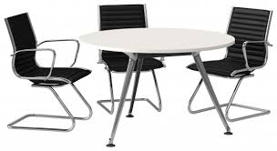 must see full office furniture fit out round office table and