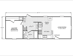 mobile home plans 14 x 44