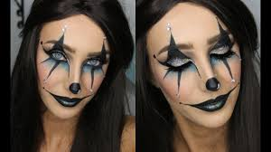 Halloween Makeup Clown Faces by Creepy Joker Clown Halloween Makeup Tutorial Youtube