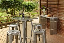 industrial bar table and stools industrial bar table and stools 5 piece set industrial patio