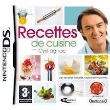 cuisine cyril lignac recettes de cuisine avec cyril lignac sur ds tous les jeux vidéo