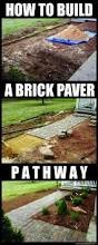 How To Lay Patio Pavers On Dirt by How To Build A Home Entrance Pathway With Inexpensive Brick Pavers