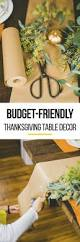 how to decorate your table for thanksgiving best 25 cheap thanksgiving decorations ideas only on pinterest