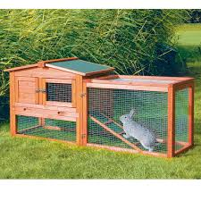 trixie natura animal hutch with outdoor run petco