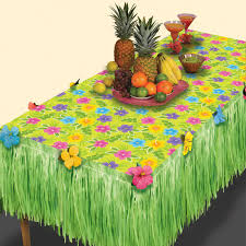 luau table centerpieces summer flower table decoration package fruit centerpieces grass
