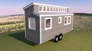tiny house shed roof design youtube