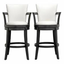 white leather swivel bar stools white swivel bar stool facil furniture