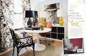 Office In The Living Room May June 2011 Lonny Magazine Lonny
