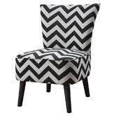 Chevron Accent Chair Found It At Wayfair Handcuff Trance Fabric Slipper Chair Home