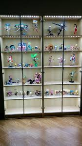 billy glass door shelf bookcase myfigurecollection net