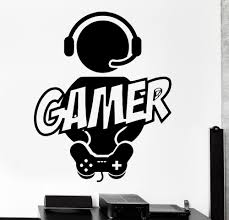 popular boys video game room buy cheap boys video game room lots new boy gamer vinyl wall decal gamer play room video games joystick fun mural art wall