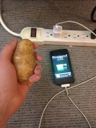 how to charge your phone with a potato rebrn com