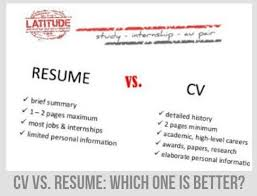 cv vs resume the differences cv vs resume do they differ and which one is better ask naij