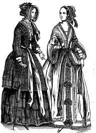 what victorians wore