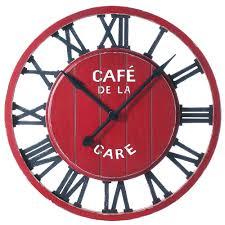 horloge murale cuisine originale cuisine design pendule murale collection avec horloge avec horloge