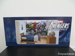 dulux avengers assemble mural review et speaks from home mr k is a massive fan of avengers from owning a huge range of superhero costumes to figurines having this avengers assemble on his wall would definitely