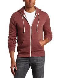 american apparel men u0027s unisex flex fleece zip hoodie at amazon