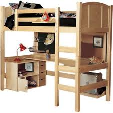Bunk Bed With A Desk Bunk Bed Desks Beds Loft With Wayfair Voicesofimani