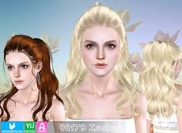 sims 3 hair custom content emma s simposium free hair pack 206 by newsea donated gifted