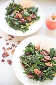 kale salad for thanksgiving winter kale salad with apples and pecans u2014 tastes lovely