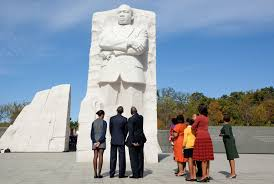 mlk quote justice delayed president obama at the martin luther king jr memorial dedication